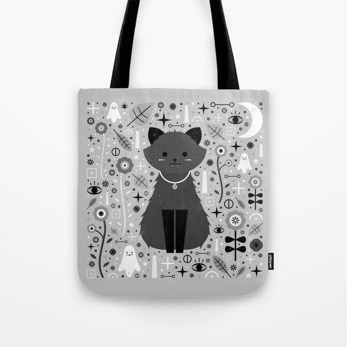 Kitten Fang Tote Bag