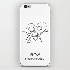 FLOW by ISHISHA PROJECT iPhone Skin