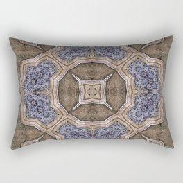 Victorian Art Deco Medieval Pattern SB42 Rectangular Pillow