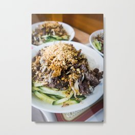 Asian Food 04 Metal Print