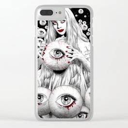 Spirits Of The Dead Clear iPhone Case