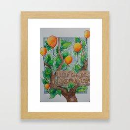 Keep Off Framed Art Print