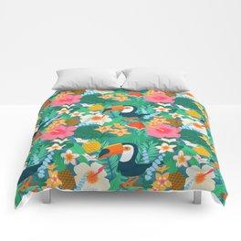 Tropical Flow Comforters
