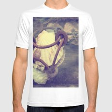 Great mussels from the Atlantic MEDIUM White Mens Fitted Tee