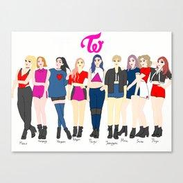 TWICE Canvas Print