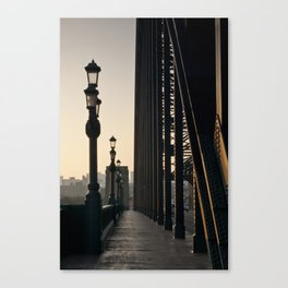 Walk Over The Tyne from Newcastle Canvas Print