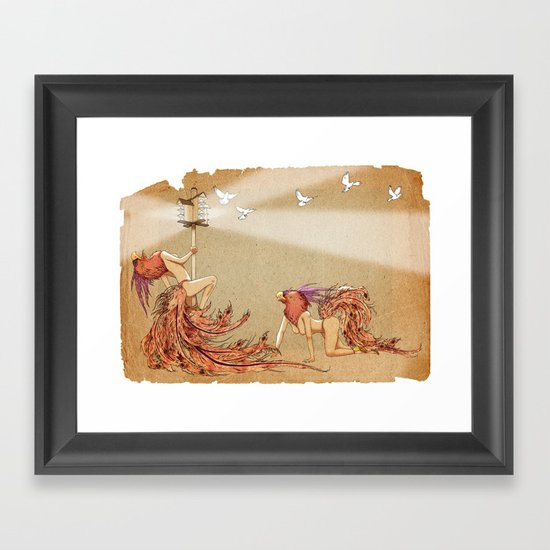 The Whores Of Horus Framed Art Print