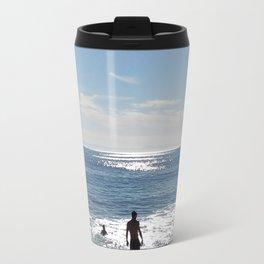 Day at the beach Travel Mug