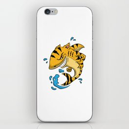 Tiger Shark T Shirt Tigershark Boys Men Kids Predators Gift Idea iPhone Skin