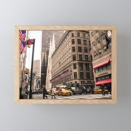 ArtWork New York City Photo Art Framed Mini Art Print