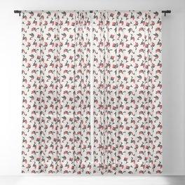 Tangram Animals Sheer Curtain