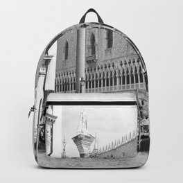 View of Venice St. Mark's Square Backpack