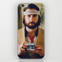 tenenbaum iPhone & iPod Skins featuring Richie Tenenbaum by VAGABOND