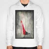 shoe Hoodies featuring Painted Shoe by V.L. Durand