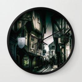 The Shambles Wall Clock
