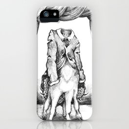 Haunted Clothing- The Coat of a Thousand Young iPhone Case