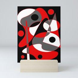 Abstract #855 Mini Art Print