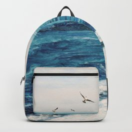 Watercolor Coast Backpack