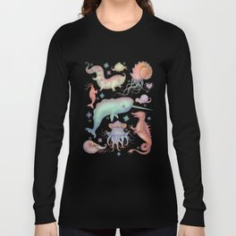 Creatures of the Deep Sea Long Sleeve T-shirt