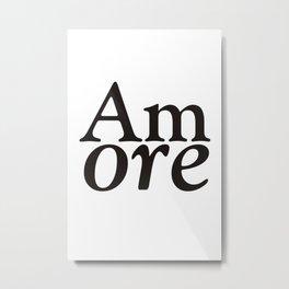 Amore - Love #society6 #Love #buyart Metal Print