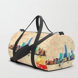 NYC Grunge Duffle Bag
