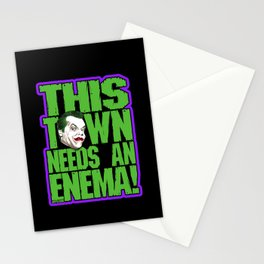 This Town Needs an Enema! Stationery Cards