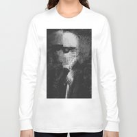 karl lagerfeld Long Sleeve T-shirts featuring Karl Lagerfeld Star Futurism Limited by Futurism_