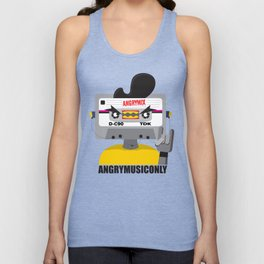 Angry Music Only Unisex Tank Top