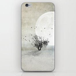 Only the Moon Knows iPhone Skin