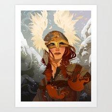 Viking Art Print