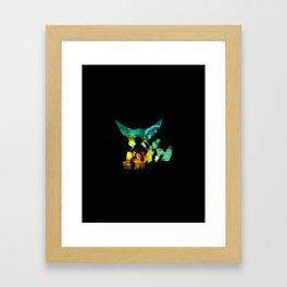 game pikapika Framed Art Print