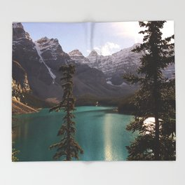 Reflections / Landscape Nature Photography Throw Blanket