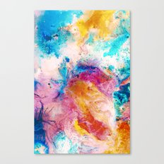 Slosh Canvas Print