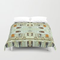 istanbul Duvet Covers featuring Istanbul by monasita
