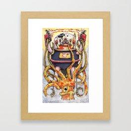 Revenge of the Fisherman's Son Framed Art Print
