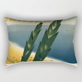 Vintage poster - Crimea Rectangular Pillow