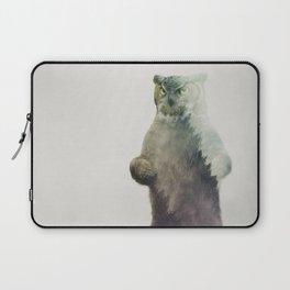 Owlbear in Forest Laptop Sleeve