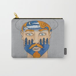 Forest Man Carry-All Pouch