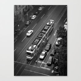 Urban Caterpillar. Canvas Print