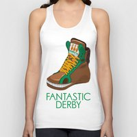 sneakers Tank Tops featuring Horse Sneakers by TurkeysDesign