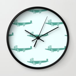 Croc Wall Clock