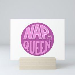 Nap Queen Mini Art Print
