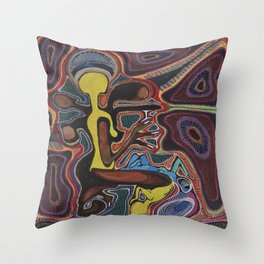 Ignorance Is Bliss Throw Pillow