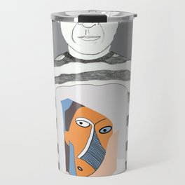 Pablo Picasso portrait Travel Mug
