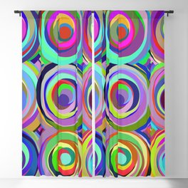 3x3 009 - abstract bouquet Blackout Curtain