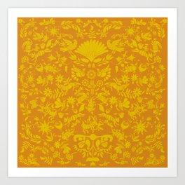 Otomi Pattern Art Print