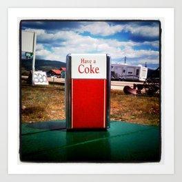 Have a Coke Art Print