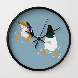 Bottoms Up! Wall Clock