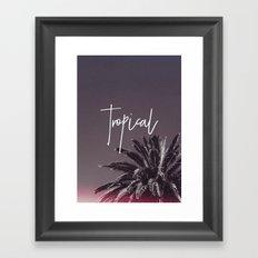 Tropical '16 Framed Art Print