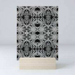 Ornament - Tree of Life - Rebirth - Mehndi Love - Black #4 Mini Art Print